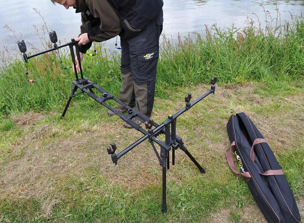 NEW SUPERPOD for 3 Reeds Rod Pod Pivoting carp