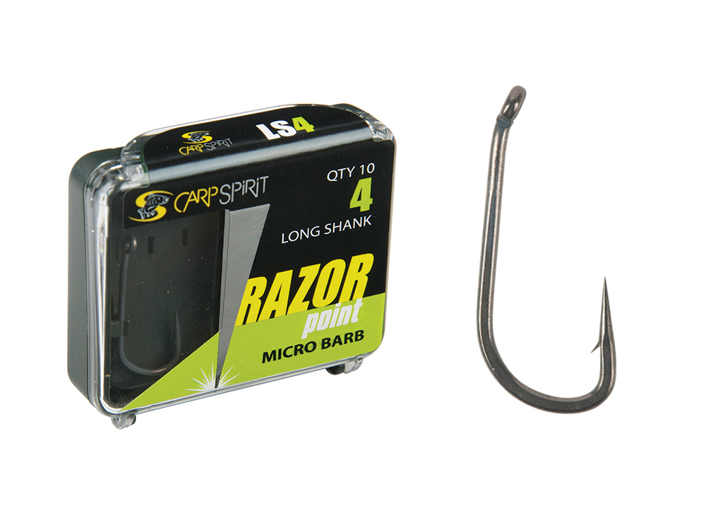 Razor Point Long Shank Pack and Hook