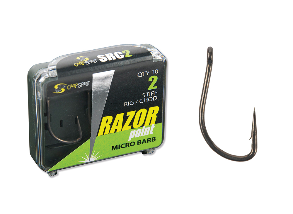 Razor Point Stiff Rig Pack and Hook