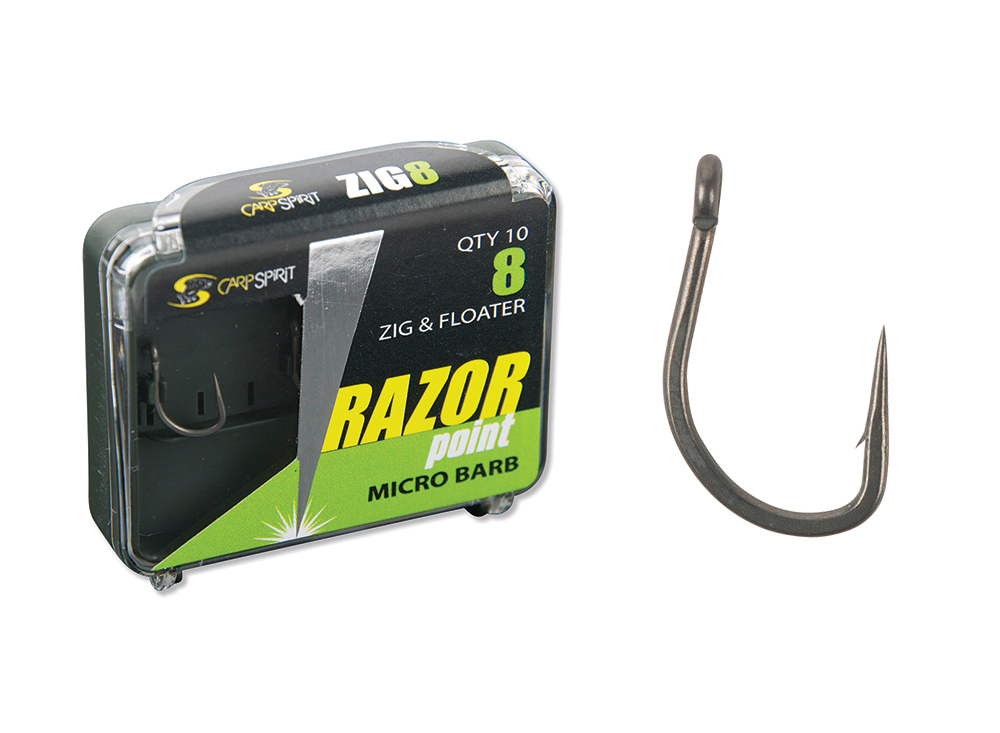 Razor Point Zig & Floater S8 Pack and Hook
