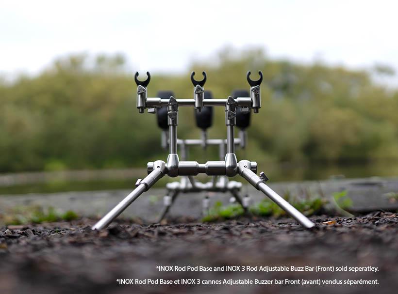 Carp Spirit Inox 2//3 Rod Adjustable Buzz Bar *Front Or Back* NEW Carp Fishing